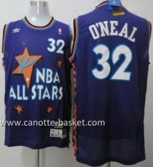 Maglie 1995 All-Star Shaquille O'Neal #32 porpora