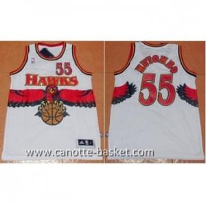Maglie nba Atlanta Hawks Dikembe Mutombo #55 bianco