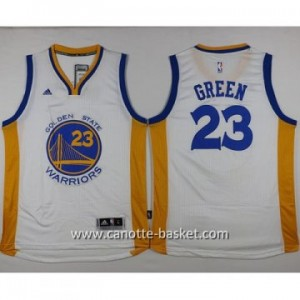 nuovo Maglie nba Golden State Warriors Draymond Green #23 bianco 14-15 stagione