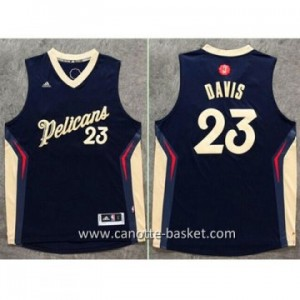 Maglie nba 2015-2016 Natale New Orleans Pelicans Anthony Davis #23