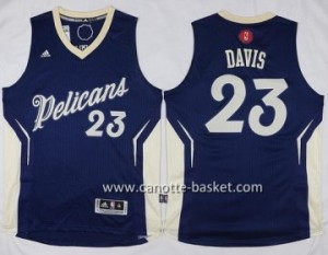 Maglie nba New Orleans Pelicans Anthony Davis #23 blu