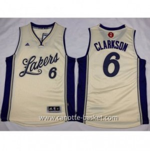 Maglie nba 2015-2016 Natale Los Angeles Lakers Jordan Clarkson #6