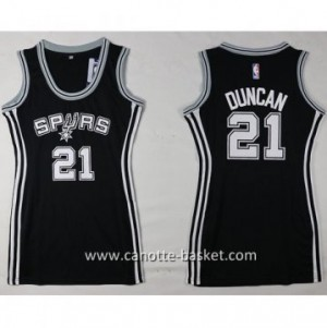 Maglie nba Donna San Antonio Spurs Tim Duncan #21 nero