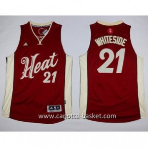 Maglie nba 2015-2016 Natale Miami Heat Hassan Whiteside #21