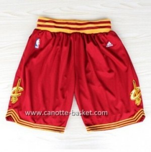 pantaloncini nba Cleveland Cavalier rosso