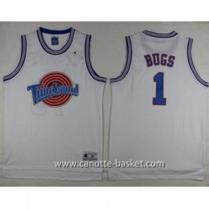 Maglie Space Jam BUGS #1 bianco