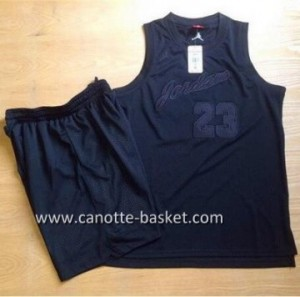 Maglie nba Michael Jordan #23 nero commemorative Edition
