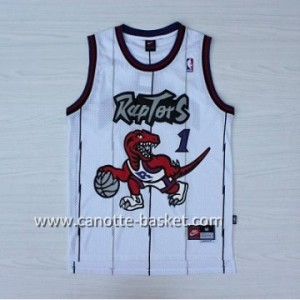 Maglie nba Toronto Raptors Tracy McGrady #1 bianco