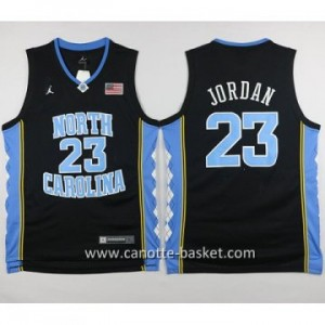 Maglie nba NCAA University of North Carolina Michael Jordan #23 nero