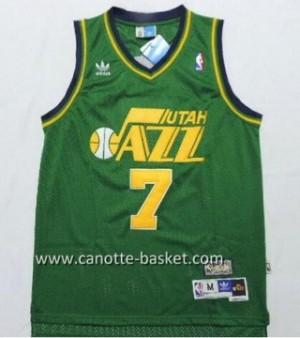 Maglie nba Utah Jazz PISTOL PETE MARAVICH #7 verde