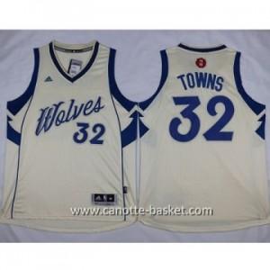 Maglie nba bambino Minnesota Timberwolves Karl-Anthony Towns #32 bianco