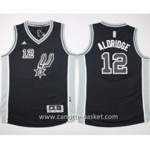 Maglie nba bambino San Antonio Spurs LaMarcus Aldridge #12 nero