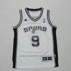 Maglie nba bambino San Antonio Spurs Tony Parker #9 bainco