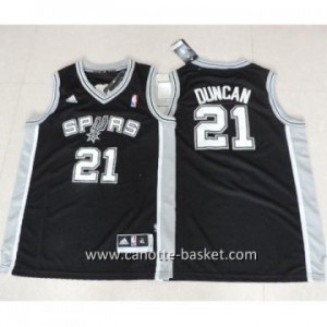 Maglie nba bambino San Antonio Spurs Tim Duncan #21 nero