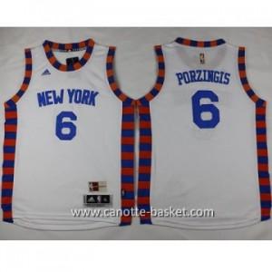 Maglie nba bambino New York Knicks Tyson Chandler #6 bianco