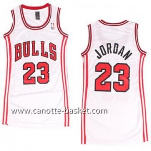 Maglie nba Donna Chicago Bulls Michael Jordan #23 bianco
