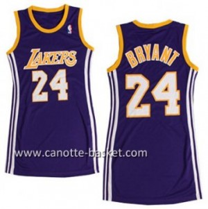 Maglie nba Donna Los Angeles Lakers Kobe Bryant #24 porpora