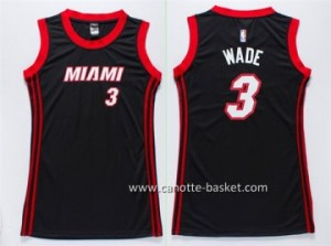Maglie nba Donna Miami Heat Dwyane Wade #3 neo
