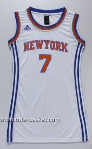 Maglie nba Donna New York Knicks Carmelo Anthony #7 bianco