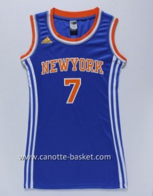Maglie nba Donna New York Knicks Carmelo Anthony #7 blu