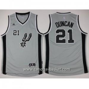Maglie nba bambino San Antonio Spurs Tim Duncan #21 grigio