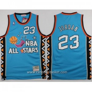 Maglie 1996 All-Star Michael Jordan  #23 blu