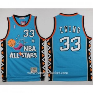 Maglie 1996 All-Star Patrick Ewing #33 blu