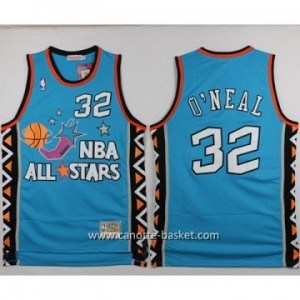 Maglie 1996 All-Star Shaquille O'Neal #32 blu