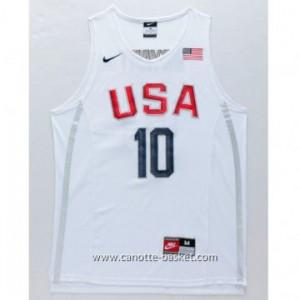 maglie basket 2016 USA Rio Olympics Kobi bryant # 10 bianco