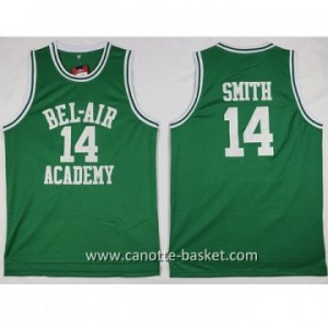 Maglie BEL-AIR ACADEMY SMITH #14 verde