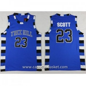 Maglie TREE HILL SCOTT #23 blu