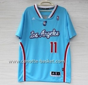 Maglie nba Los Angeles Clippers Jamal Crawford #11 blu manica lunga