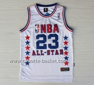 Maglie 2003 All-Star Michael Jordan #23 bianco