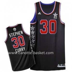 Maglie 2015 All-Star Stephen Curry #30 nero