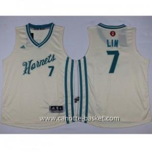 Maglie nba bambino Charlotte Hornet Jeremy Lin #7 bianco