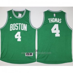 Maglie nba Boston Celtics Isaiah Thomas #4 verde 2016 stagione