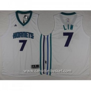 Maglie nba Charlotte Hornet Jeremy Lin #7 bianco