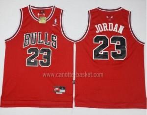 Maglie nba Chicago Bulls #23 Michael Jordan rosso