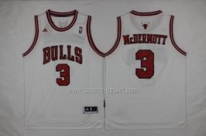 Maglie nba Chicago Bulls Doug McDermott #3 bianco