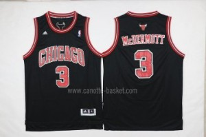 Maglie nba Chicago Bulls Doug McDermott #3 nero