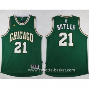 Maglie nba Chicago Bulls Jimmy Butler #21 verde