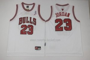 Maglie nba Chicago Bulls Michael Jordan #23 bianco