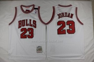 Maglie nba Chicago Bulls Michael Jordan #23 bianco Color-Classic