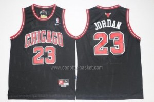 Maglie nba Chicago Bulls Michael Jordan #23 nero