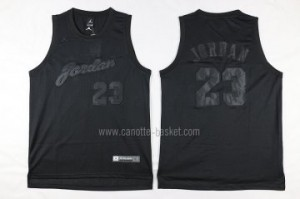 Maglie nba Chicago Bulls Michael Jordan #23 tutto nero