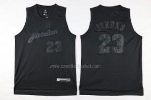 Maglie nba Chicago Bulls Michael Jordan #23 tutto nero
