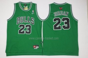 Maglie nba Chicago Bulls Michael Jordan #23 verde