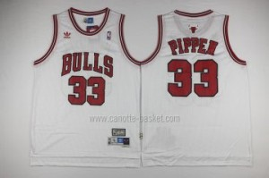 Maglie nba Chicago Bulls Scottie Pippen #33 bianco