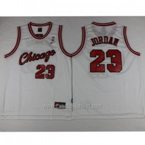 Maglie nba Chicago Bulls bianco Michael Jordan #23