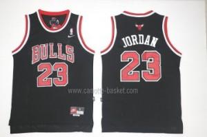 Maglie nba Chicago Bulls nero Michael Jordan #23